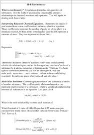 those coefficients represent the number of particles taking place in a chemical reaction be they