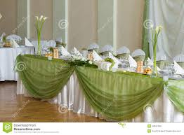 Wedding Table With Flowers Royalty Free Stock Images Image 34647469