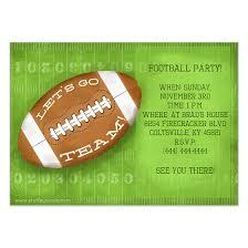 Free Football Invitation Templates Football Birthday Party Invitation Templates Free Football