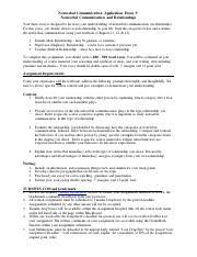 essay breaking nonverbal norms nonverbal communication 1 pages essay 3 relationships