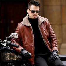 plus size 8xl 7xl 6xl 5xl warm winter sheepskin men s leather jacket men leisure fur coat