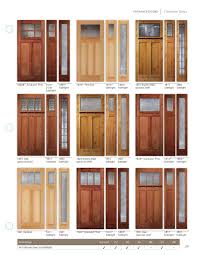 Jeld Wen Craftsman Exterior Door With Sidelights  JELDWEN Windows And Doors Premium Wood Exterior Interior