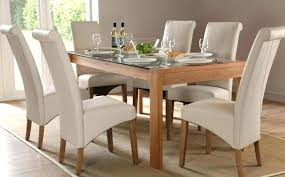 white leather dining room chairs. Leather Chairs Dining Room Table Sets Beige . White