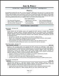 Immigration Paralegal Resume Sample