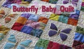 Scrappy Butterfly Baby Quilt Tutorial • Freemotion by the River & Scrappy Butterfly Baby Quilt Tutorial Adamdwight.com