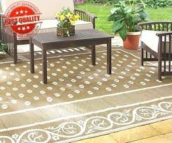 outdoor rug photo 1 of reversible area carpet brown large camper camping patio rv rugs furniture