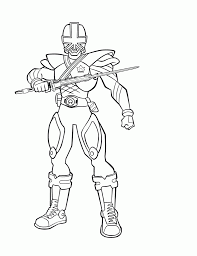 Free Printable Power Rangers Coloring Pages For Kids Jacket