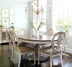 round shabby chic dining table round by chic dining table and chairs chic dining room shabby