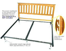 Bed Frame Legs Lowes Extension Brackets Bed Frame Extension For ...