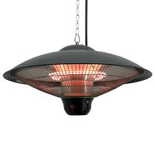 hanging patio heater. Outsunny Outdoor Indoor Remote Control Hanging Ceiling Electric Halogen Patio Heater/ LED Heater