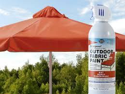 rust waterproof outdoor fabric spray paint