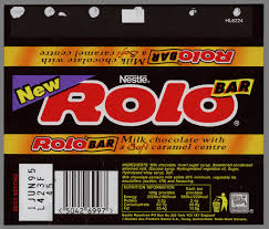 chocolate bar wrappers cc_uk nestle rolo bar new chocolate candy bar wrapper 1995