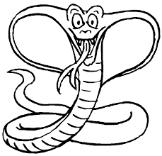 Small Picture Cobra coloring page Animals Town animals color sheet Cobra