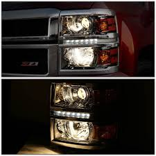 15 chevy silverado 1500 led strip projector headlights smoked 2014 Chevy Silverado Headlight Wiring 2014 15 chevy silverado 1500 led strip projector headlights smoked 2011 chevy silverado headlight wiring diagram