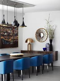 standing lamp hanger lamp royal blue dining chairs kitchen ideas