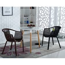 modern design stackable plastic outdoor dining armchair meeting chair waiting chair dining room