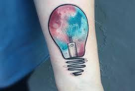 50 Most Creative Light Bulb Tattoo Designs And Ideas Tattoobloq