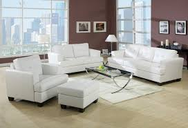 White Living Room Decorating White Leather Living Room Furniture Best Living Room 2017