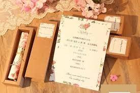 Scroll Birthday Invitations Online Shop Kraft Boxed Scroll Wedding Invitations Card Of