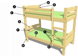 plan bunk bed
