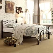 Abigail Brown Metal Platform Bed Multiple Sizes eBay