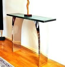 enchanting narrow console table with furniture ceramic vase modern ballard designs hallway stylish thin console hallway tables