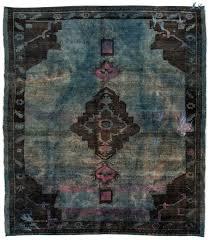 overdyed vintage rug loom rugs