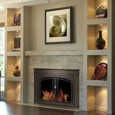 pleasant hearth fenwick glass firescreen oil rubbed bronze