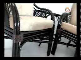 <b>Комплект плетеной мебели</b> из натурального ротанга
