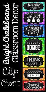 Chalkboard Brights Classroom Rules Chart Behavior Clip Chart Chalkboard Brights Classrooms