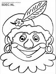Sinterklaas Knutselen Sinterklaas Kleurplaten Zwarte Piet
