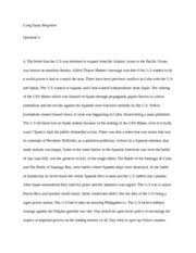 hist exam essay questions part n missile crisis on 2 pages hist 104 long essay response q 4