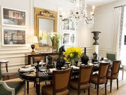 Dining Room Fetching White Dining Room Decor Using Rectangular - Black oval dining room table