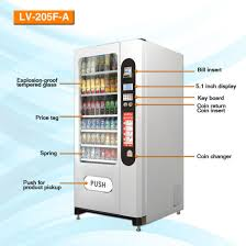Top Selling Vending Machine Drinks Extraordinary China Snack And Cold Drink Vending Machine LV48fa From Le Vending