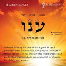 Light Of God In Hebrew 72 Names Of God Appreciation Learn Hebrew Names Of God