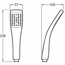 <b>Ручной душ Jacob</b> Delafon EO E3876-CP - купить в интернет ...