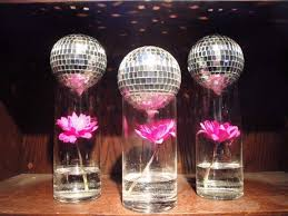 Disco Ball Party Decorations party ideas on Pinterest Mirror Ball Disco Ball and 1