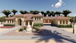 1 story mediterranean house plan