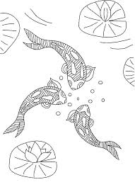 Small Picture Three Koi Fish Coloring Pages Download Print Online Coloring