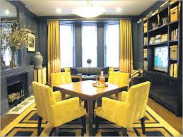 flexible curtain rod for bay window using yellow color ideas with fireplace and small dining room