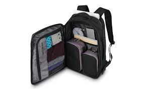 best for staying organized samsonite detour travel backpack