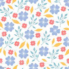 Cute Baby Floral Pattern With Pastel ...