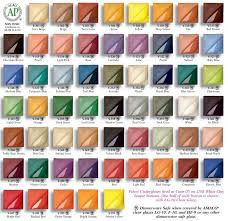 Stroke And Coat Glaze Color Chart Best Picture Of Chart