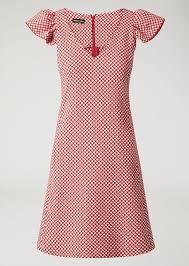 A Line Dress Pattern Extraordinary Aline Dress In Circle Pattern Fabric Woman Emporio Armani