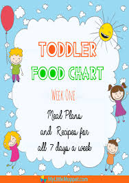 1 Year Old Baby Food Chart Indian Toddler Food Chart With Recipes 1 My Little Moppet