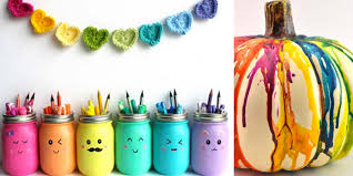 Small Picture 36 DIY Rainbow Crafts That Will Make You Smile All Day Long DIY