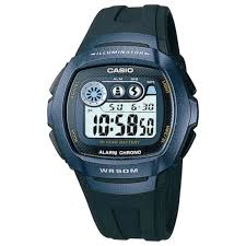 buy casio men s watches at argos co uk your online shop for more details on casio men s lcd digital blue case black strap watch