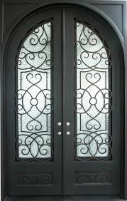 wrought iron front doorsSingle  Double Front Entry Iron Doors in Phoenix AZ  Iron Doors