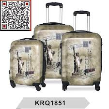 China The <b>Statue of Liberty Printing</b> PC Travel Trolley Luggage ...