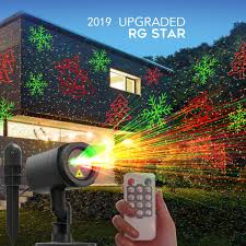Remote control RG Indoor/Outdoor <b>laser projector</b> lights For ...